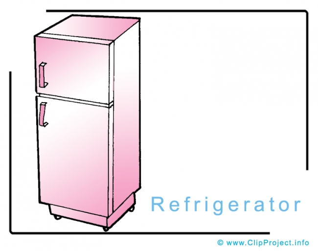 Free coloring pages of refrigerator cartoons for Refrigerator coloring page