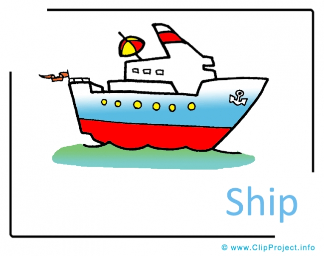 free clip art cartoon cruise ship - photo #9