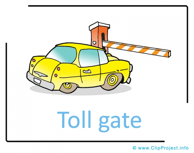 Clip Art Title: Toll Gate Clipart Picture free - Transportation ...: www.clipartfreebee.com/clip-art-gallery-with-gratis-images...