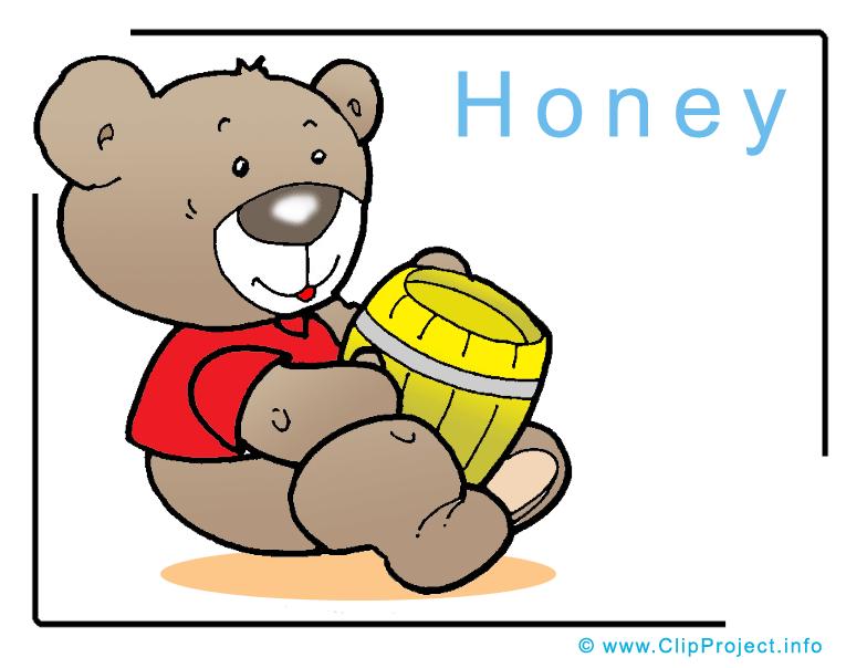 free clipart of honey - photo #34