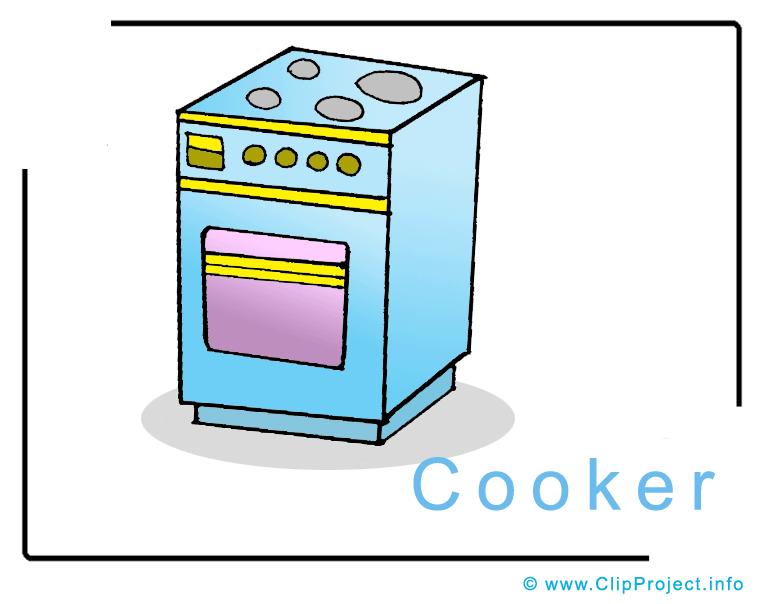 Cooker Clip Art ~ Cooker clip art free