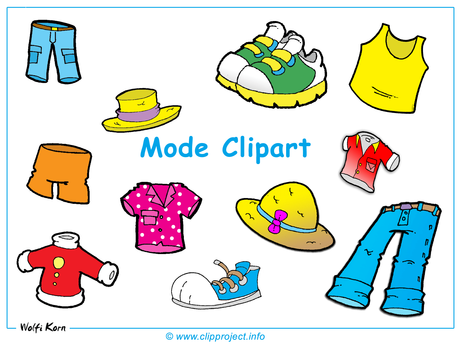 clothes clipart images - photo #42