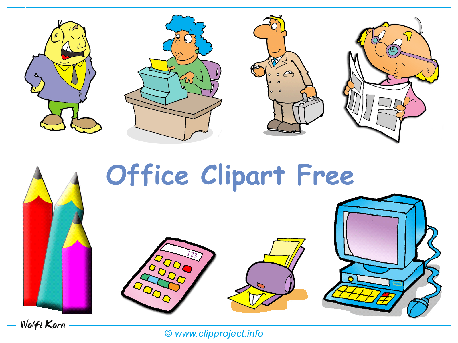 Office Clipart Free Download 115