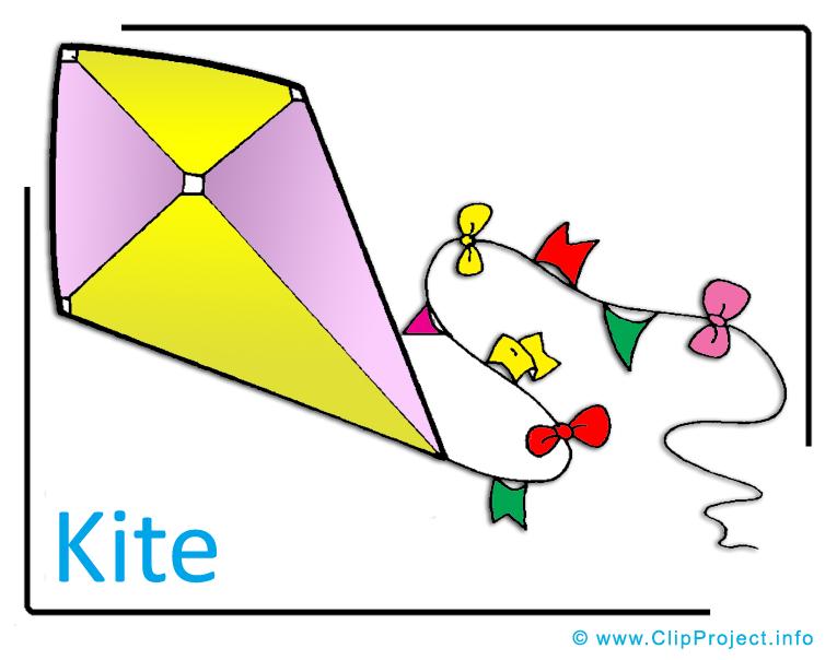 Bildtitel: Kite Clipart Image free - Kindergarten Clipart Images for ...