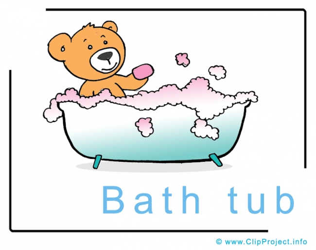Bath Tub Clip Art Image free - Animals Clip Art free
