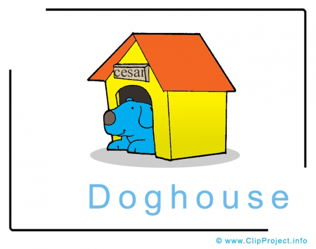 Doghouse Clip Art Image free