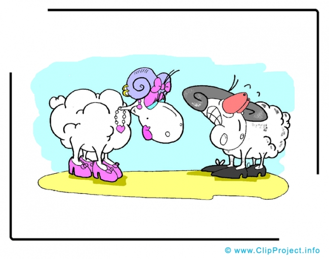 Sheeps Clip Art Image free - Animals Clip Art Images free