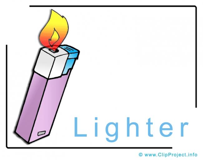 Lighter Clip Art image free