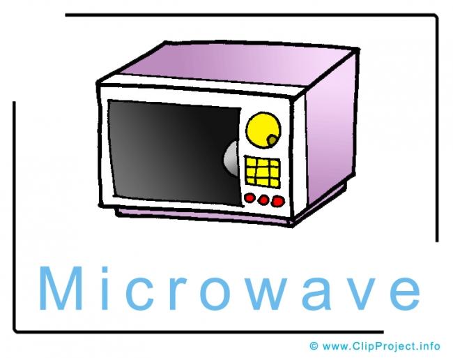 Microwave Clip Art Image free