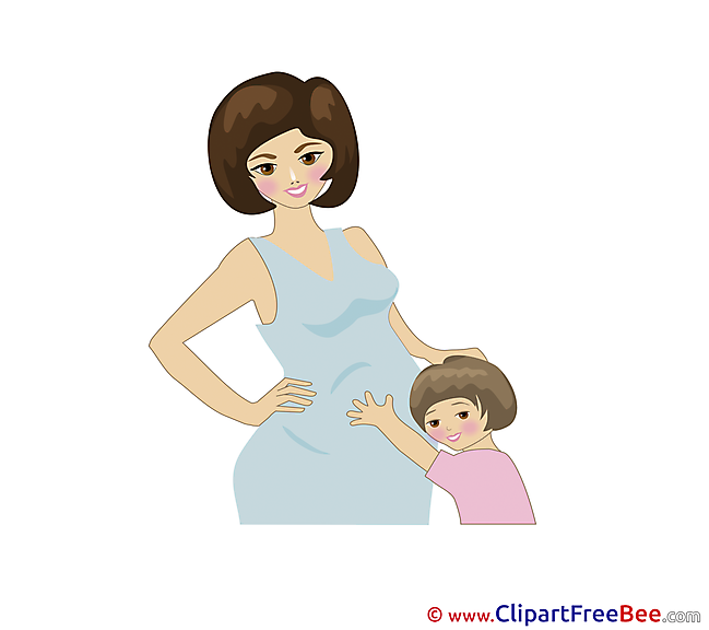 Mother Clipart Baby Illustrations