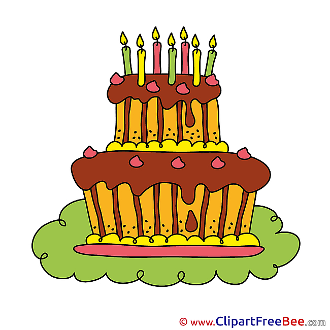 Birthday Cake Illustrations for free
