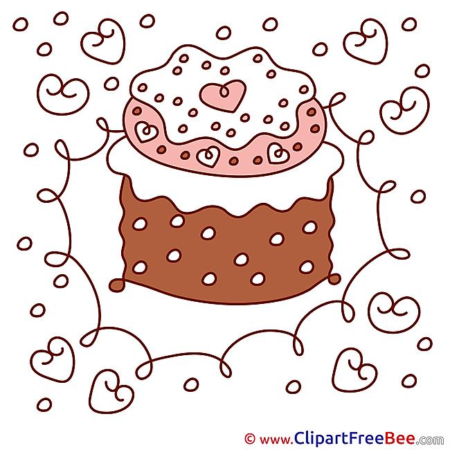 Cake Birthday Clip Art for free