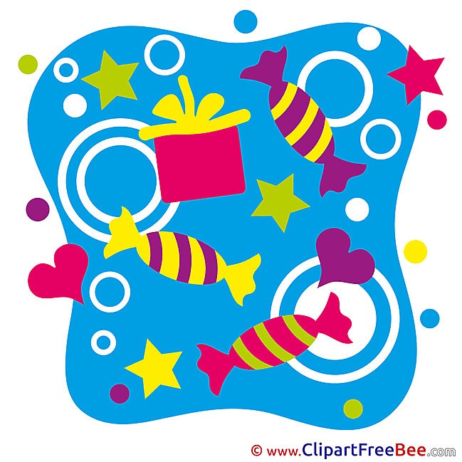 Candies Pics Birthday free Image