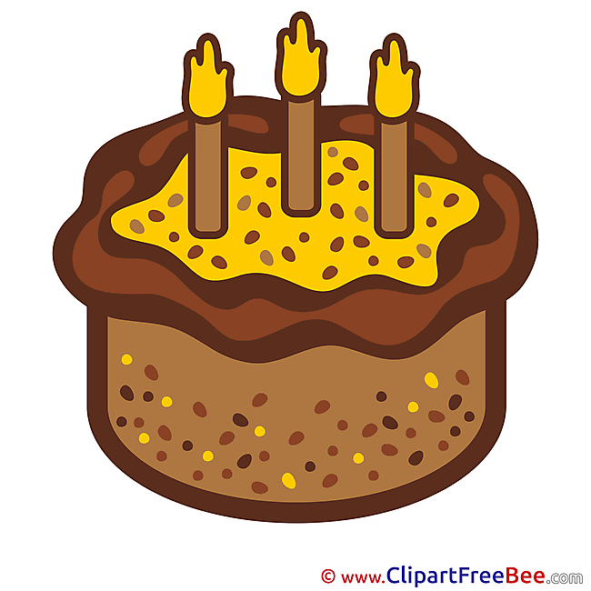 Candles Cake free Cliparts Birthday