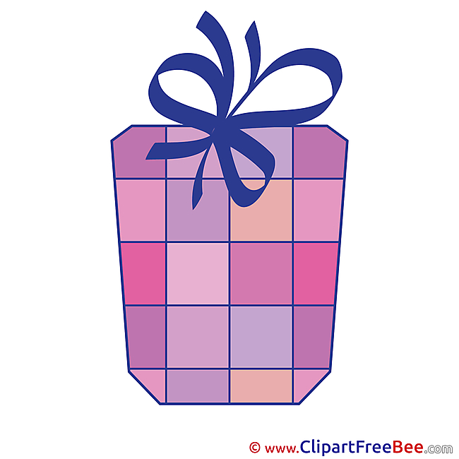 Cliparts Present Birthday for free