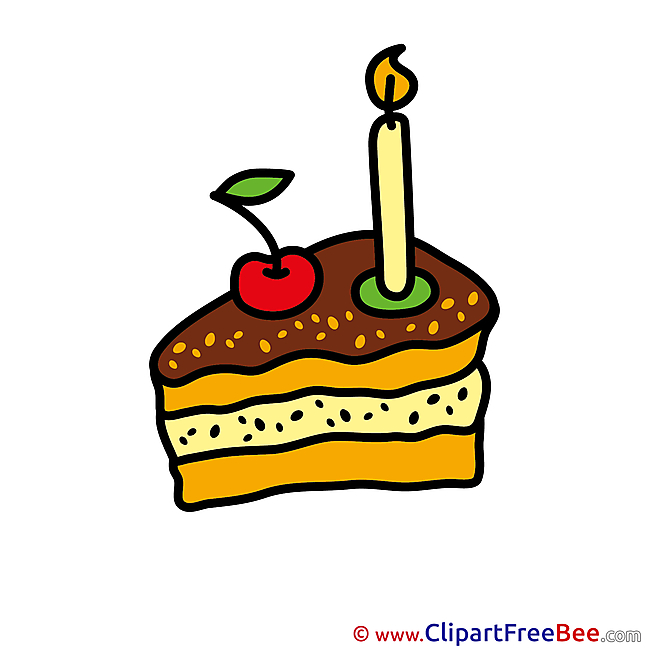 Piece of Cake Pics Birthday free Cliparts