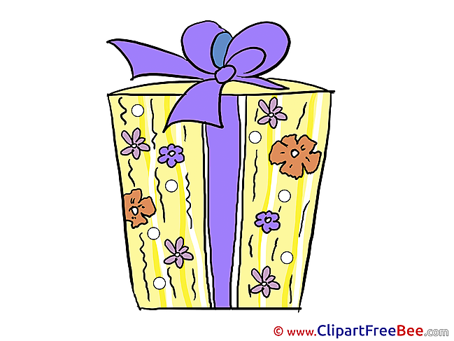 Present free Cliparts Birthday