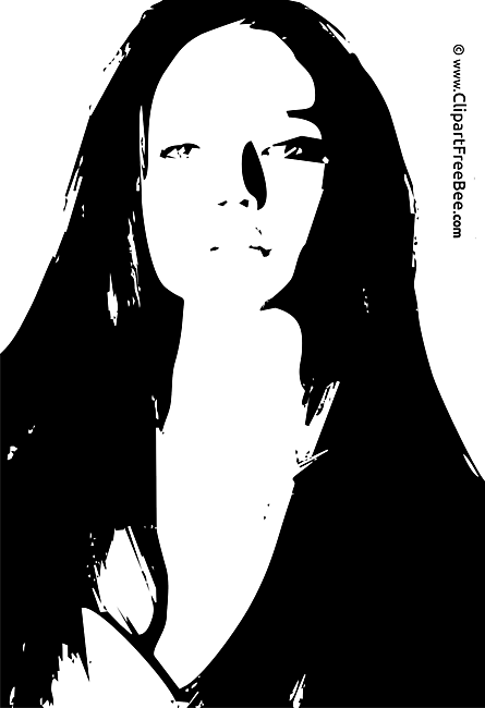 Model Girl free printable Cliparts and Images