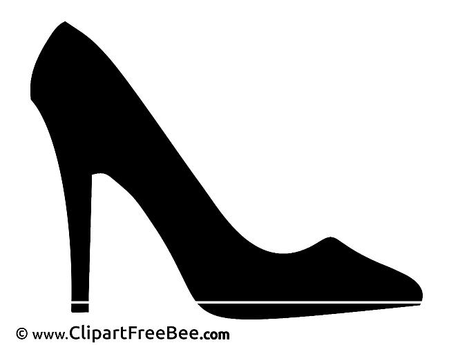 Shoe Pics printable Cliparts