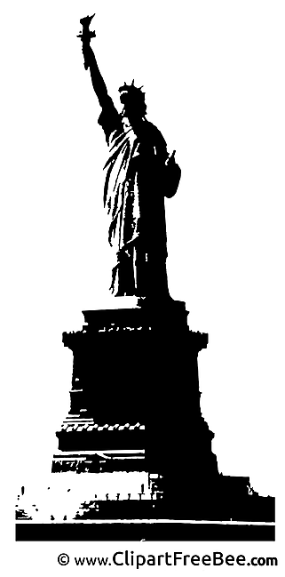 Statue of Liberty Clipart free Illustrations