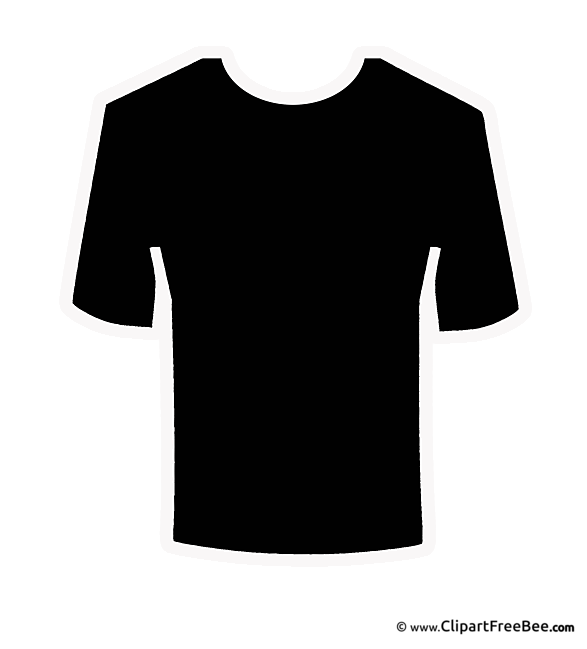 T-Shirt Cliparts printable for free
