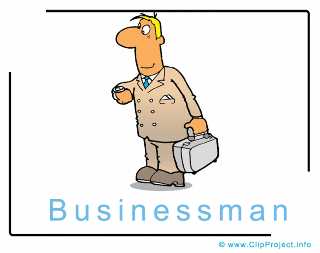 Businessman Clipart Geschaeftsmann Bild kostenlos