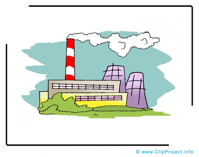 Factory Clipart Image - Business Clipart Images for free