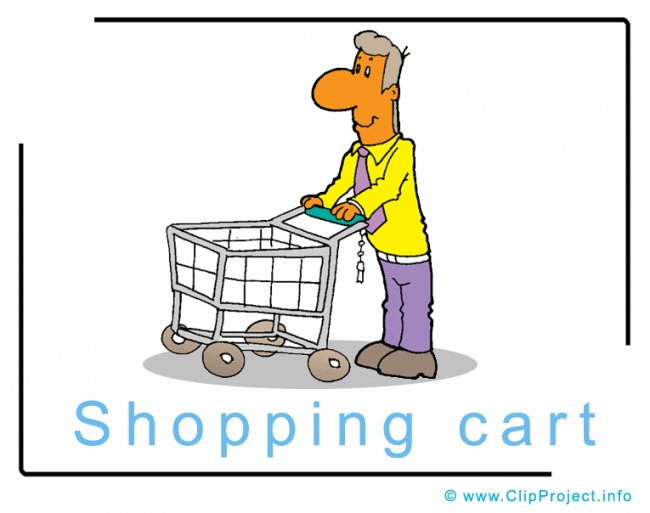 Shopping Cart Clipart Image - Business Clipart Images for free