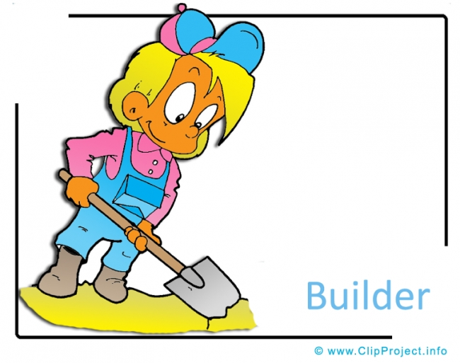 Builder Clipart Image - Career Clipart Images