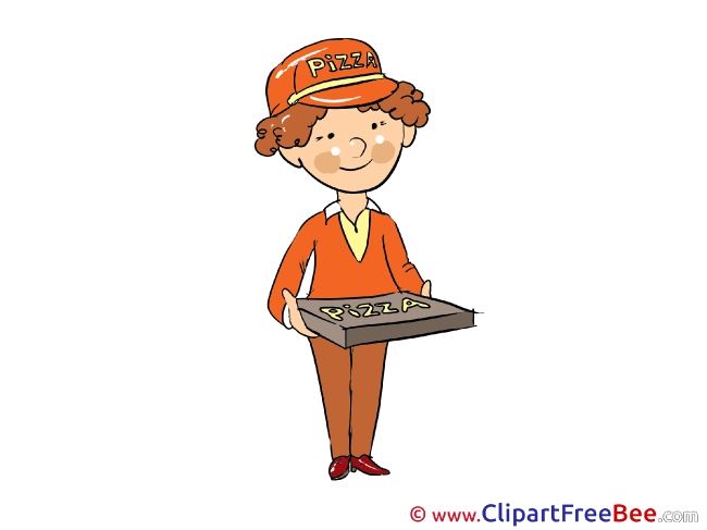 Delivery Man printable Images for download
