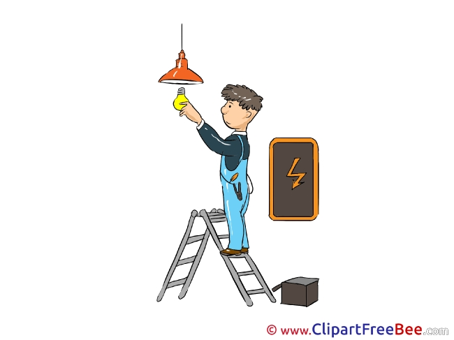 Electrician Clipart free Illustrations