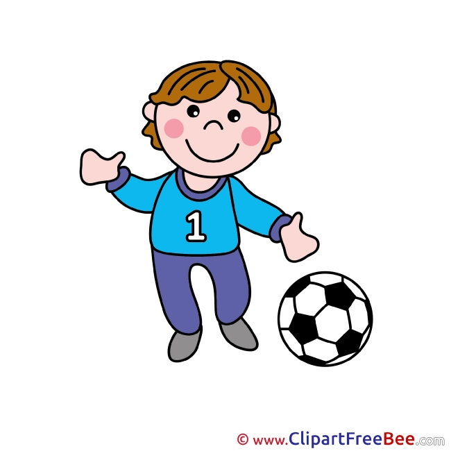 Footballer Ball Pics free Illustration