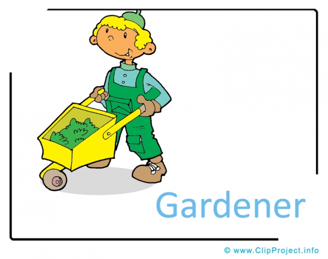 Gardener Clipart Image - Career Clipart Images