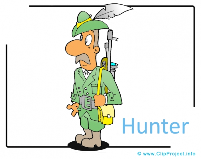 Hunter Clipart Image - Career Clipart Images