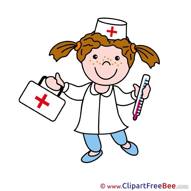 Medicine Nurse download Clip Art for free