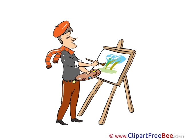 Painter free printable Cliparts and Images