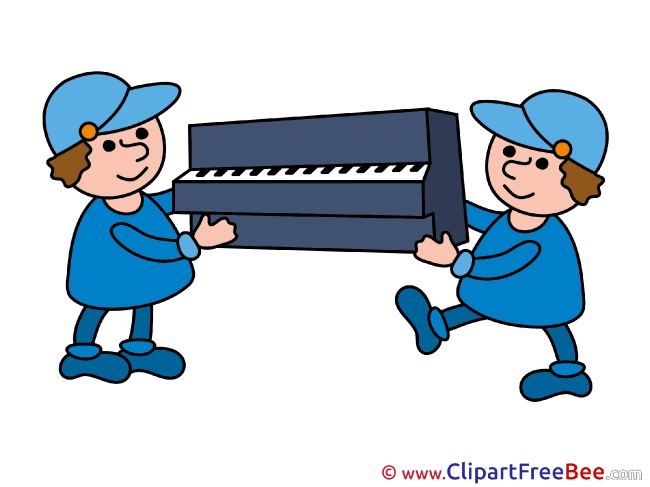 Piano Loaders download printable Illustrations