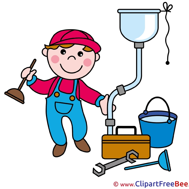 Plumber Clip Art download for free