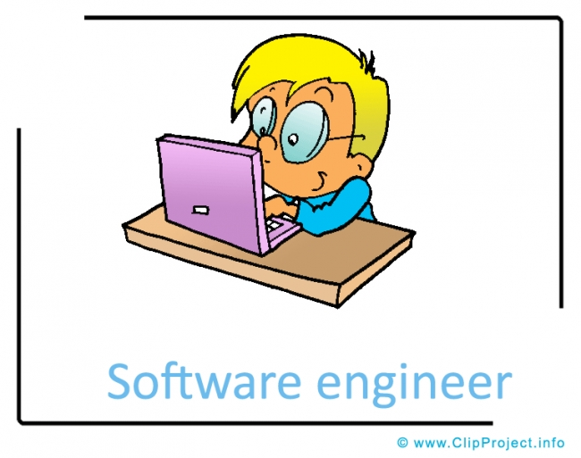 Software Engineer Clipart Image - Career Clipart Images