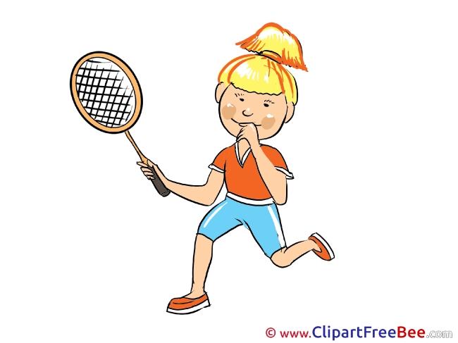Tennis Player Pics download Illustration