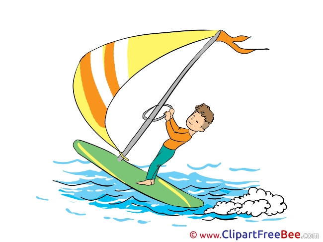 Windsurfer free Illustration download