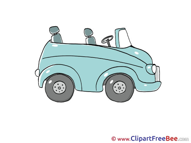 Green Car printable Images for download
