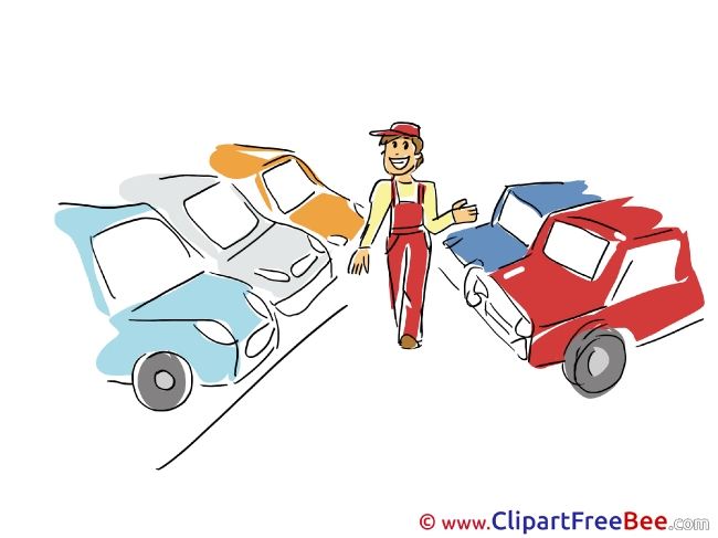 Parking download printable Illustrations
