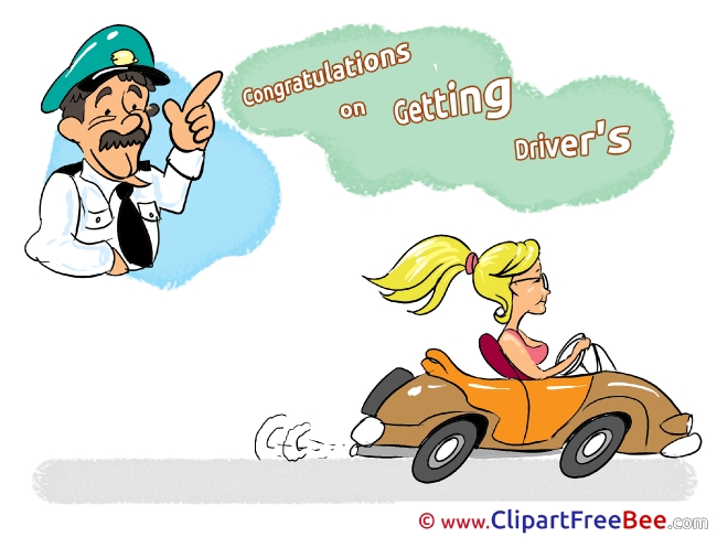 Policeman Driver Car Pics free Illustration