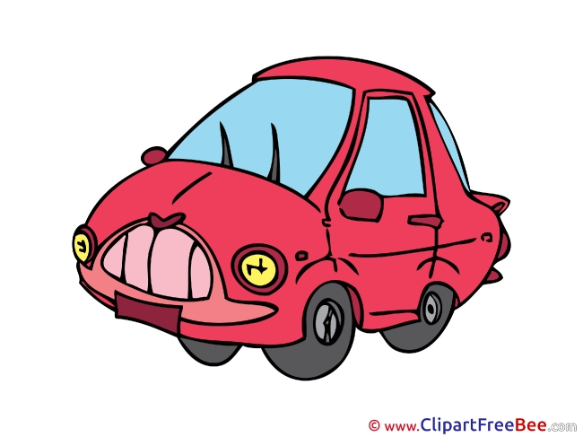 Sedan Car Pics printable Cliparts