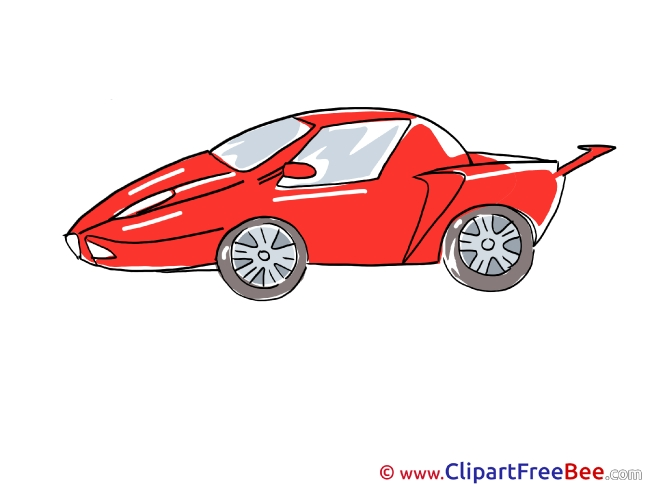 Sport Car free printable Cliparts and Images