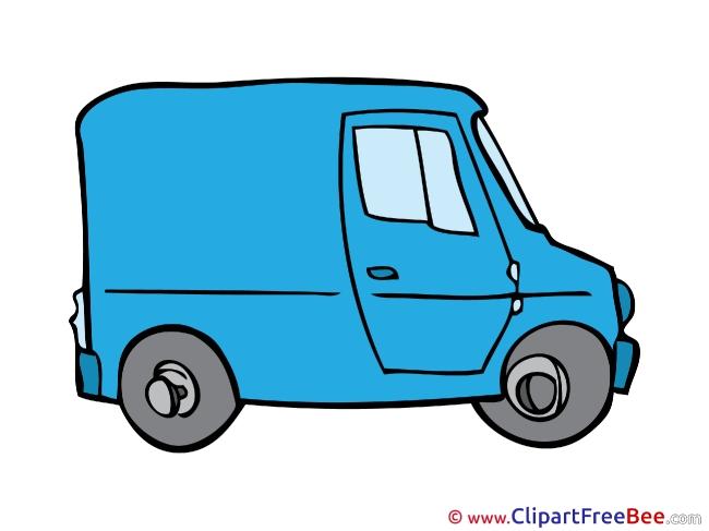 Van Clipart free Illustrations
