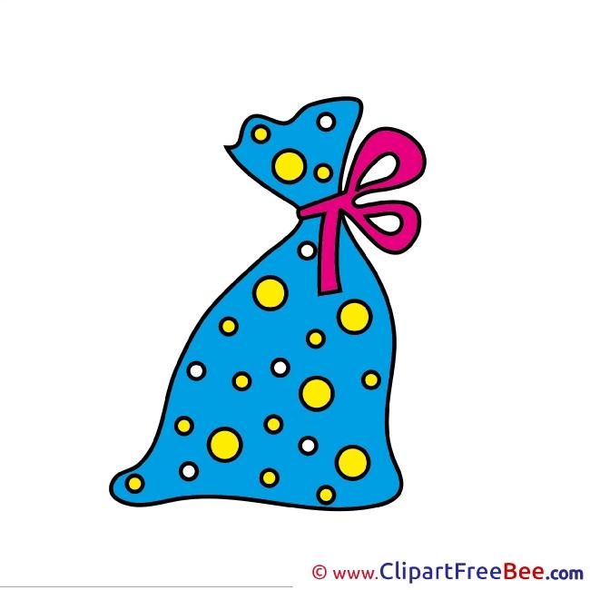 Bag Clip Art download Christmas