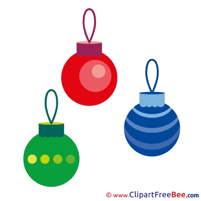 Balls Toys free Cliparts Christmas