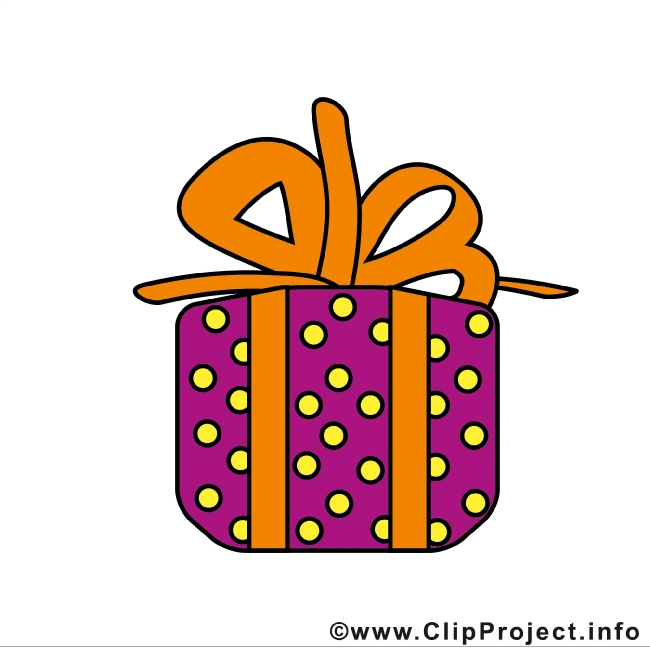 Christmas Gift Clip Art free